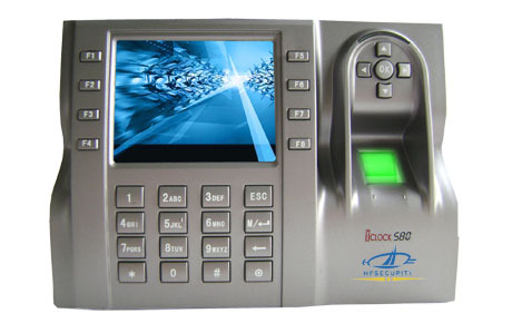 Hf Iclock580 Most Competitive Biometric Fingerprint Time And Attendance