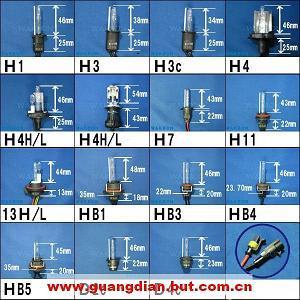 Hid Xenon Bulb H1 H3 H4 H7 H8 H9 H10 H11 H13 9004 9005 9006 9007 880 881 2