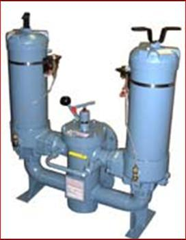 High Capacity Duplex Water Service Filter