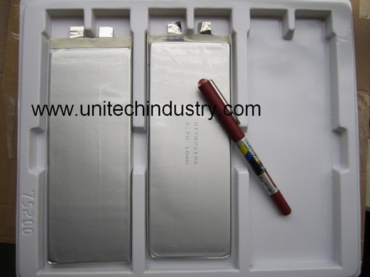 High Capacity Li Polymer Battery Ut7072196 3 7v 10ah