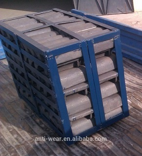 High Cr Cast Iron Mill Liners Lifter Bars