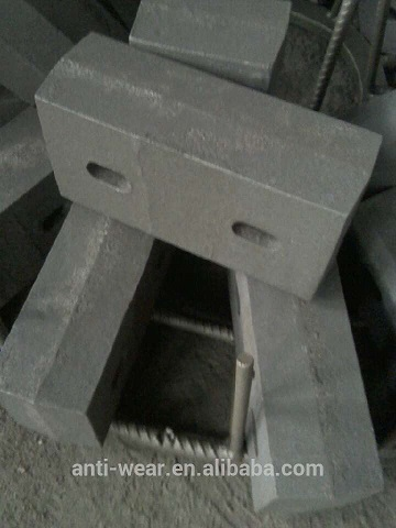 High Cr Tap Liners With The Dimension 297x145x100mm Used For Grinding Mill