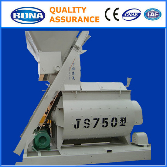 High Efficiency Js750 Concrete Mixing Machine