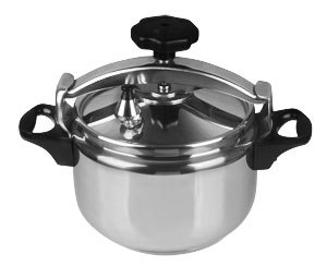 High Gland Aluminum Alloy Explosion Proof Pressure Cooker