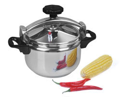 High Gland Stainless Steel 304 18 8 Explosion Proof Pressure Cooker