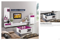 High Gloss Wood Tv Stand White Set With Drawers Ca