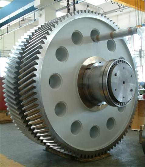 High Loading Capacity Herringbone Gear Cutting