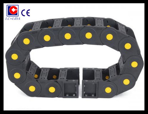 High Mechanical Strength Engineering Cnc Plastic Cable Drag Chain
