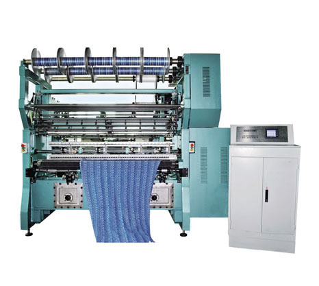 High Performance Tricot Warp Knitting Machine For Elastic Articles With El