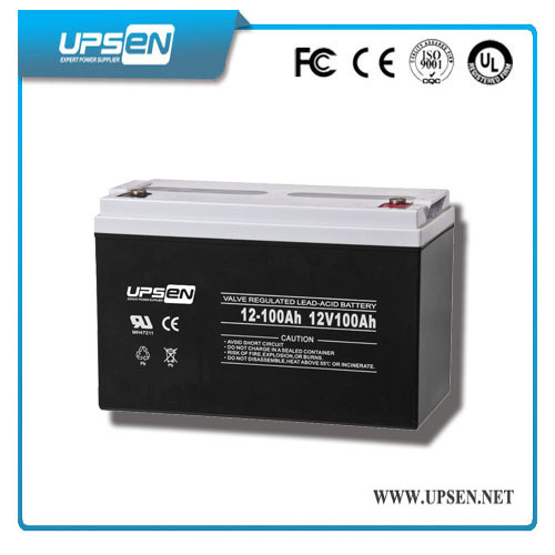 High Power Deep Cycle 12v Gel Battery With Double Tech