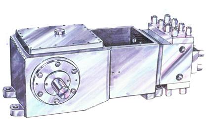 High Pressure Reciprocating Simplex Pump
