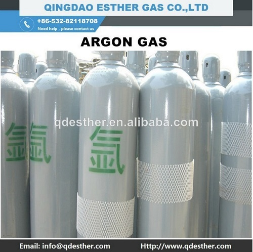 High Purity 99 999 Argon Gas