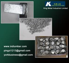 High Purity Zinc Metal Chunks Ball