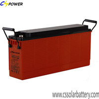 High Quality 12v150ah Gel Deep Cycle Front Terminal Battery