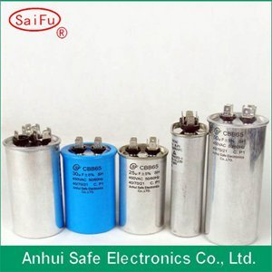 High Quality Ac Motor Cbb65 Capacitor