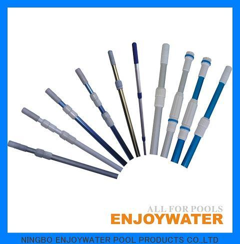 High Quality Anodized Aluminum Swimming Pool Telescopic Pole