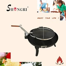 High Quality Bbq Grill Cast Iron Charcoal Barbecue