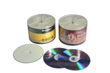 High Quality Blank Dvd R 4 7gb Up To 16x Silver Shiny With Purple Color Bra