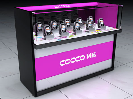 High Quality Display Counter For Mobile Shop
