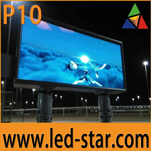 High Quality Outdoor P10 Led Advertising Screen With Reasonable Price