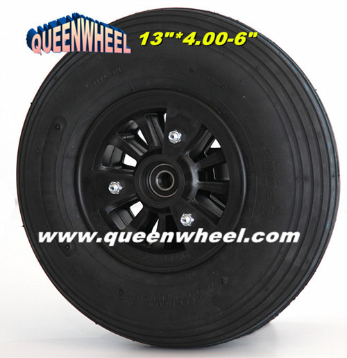 High Quality Pneumatic Tire With Nylon Rim 13x4 00 6