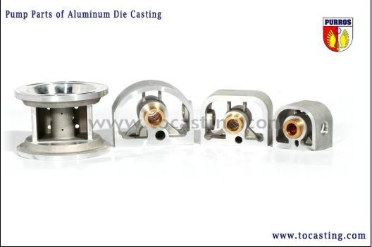 High Quality Sand Casting Pump Parts