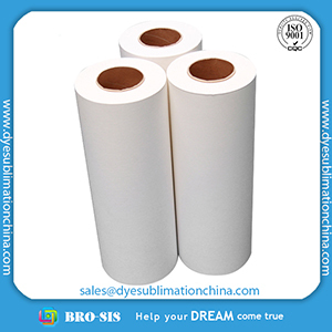 High Quality Tack 105gsm Sublimation Transfer Paper From China