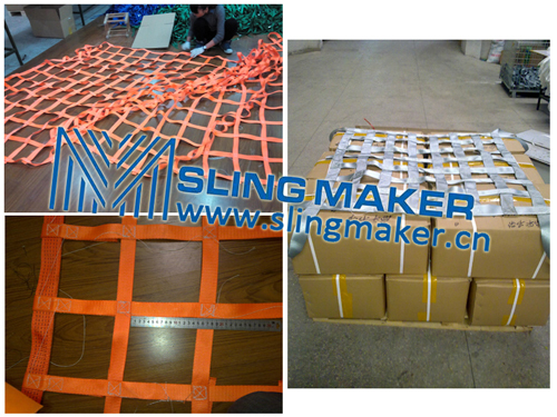 High Quality Webbing Cargo Net Lifting Holding Secure Control