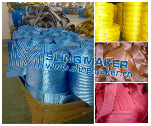High Quality Webbing Material For Slings Sling Flat Band Straps