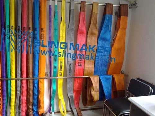 High Quality Wll10ton 10000kg Polyester Webbing Sling Flat Web Band
