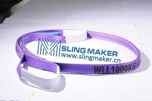 High Quality Wll1ton 1000kg Polyester Webbing Sling Flat Web Band