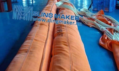 High Quality Wll200ton 200000kg Heavy Duty Round Sling 6 1 7 8