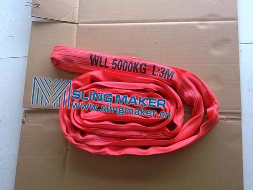 High Quality Wll5ton 5000kg Endless Round Sling