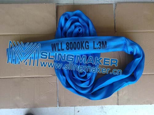 High Quality Wll8ton 8000kg Endless Round Sling 6 1 7 8