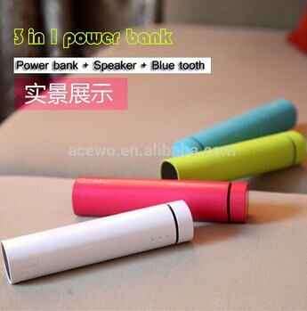 High Qulity Portable Manual For Power Bank With Speaker
