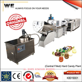 High Speed Central Filled Hard Candy Machine