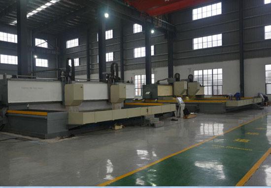 High Speed Cnc Slewing Bearing Drilling Machine Thd70 Max Diameter 7000mm