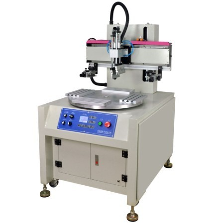 High Speed Flat Screen Printing Machine With 4 Workstations