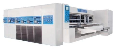 High Speed Flex Printer Slotter Rotary Die Cutter
