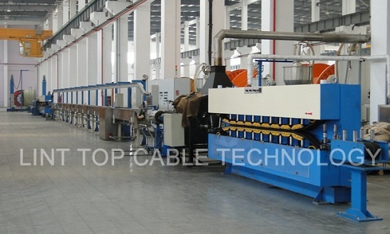 High Speed Insulation Sheathing Extrusion Line