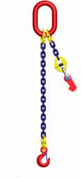 High Strength Chain Sling Single Leg