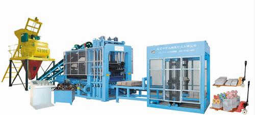 High Tech Block Making Machine Multi Function Brick Manufacturing Machinery