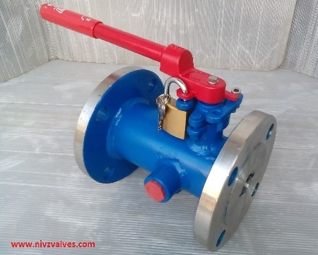High Temperature Metal Seated Jacketed Ball Valve