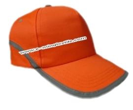 High Vis Orange Reflective Baseball Cap