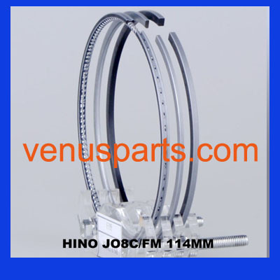Hino Spare Parts J08ct J08c Diesel Piston Ring 13011 3570 3820 2962