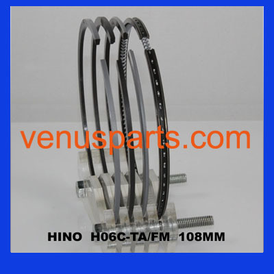 Hino Used Diesel Engines H06ct 07c Piston Ring 13011 1961 1610 1620