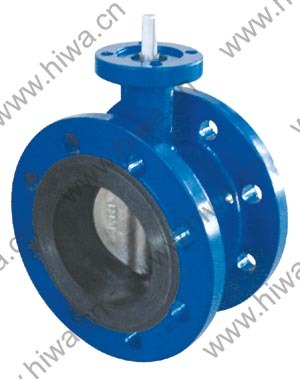Hiwa Double Flange Butterfly Valve B70f