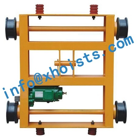Hoists Double Rail Trolley