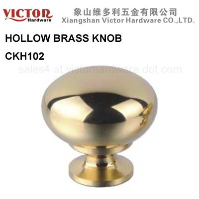 Hollow Brass Furniture Knob Cabinet Hardware China Manufacture