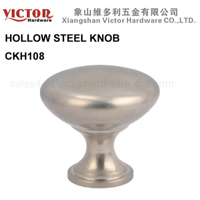 Hollow Steel Furniture Knob Cabinet Hardware China Manufacture Ckh108
